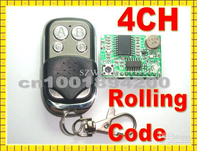 Wholesale Rolling code Receiver ModuleTransmitter Wireless Remote Control super heterodyne DC3 V CHTTL