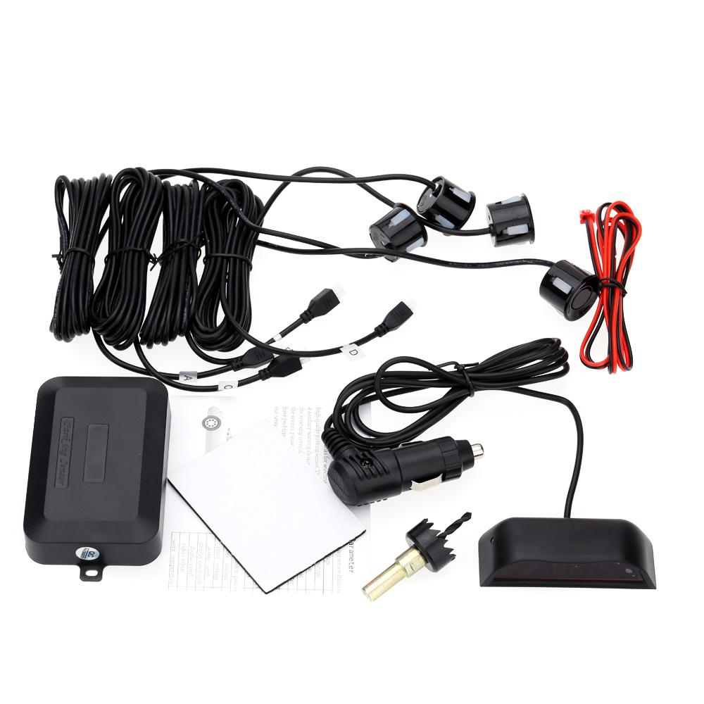 Wholesale DC V Car Detecor LED Display Car Parking Assist Sensor Reverse Radar m Car Detector Alert System by Wireless Link Parking DHL K2133