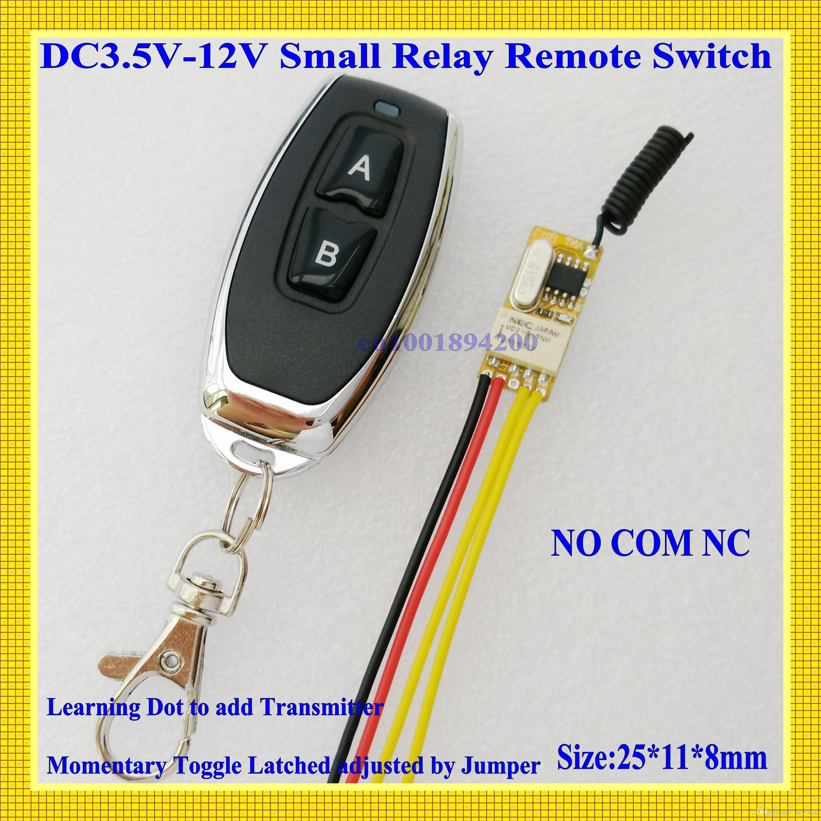 automatic door control systems - Electric Control Lock Door Access Control System Automatic Door Micro Mini Remote Control Switch DC V V V V V V V