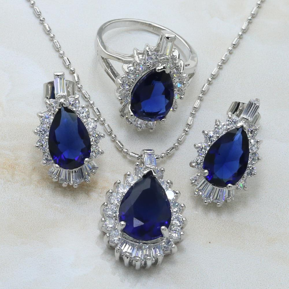 S085A- women jewelry earrings three-piece suit more advanced models   necklace   ring free shipping 925