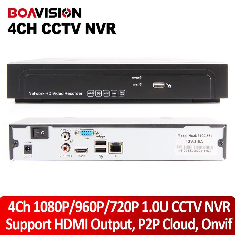 Wholesale Nasasafe u H hd Network video recorder P p P ch NVR for ip camera ch p playback Realtime fps support Onvif audio