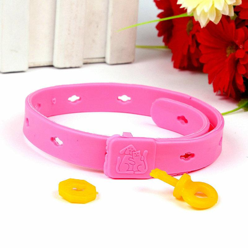 best dog repellent - Best Sale Pink Collar Dog Puppy To Kill And Prevent Lice Collar Flea Circle Cleaning Necklet Insect Repellent
