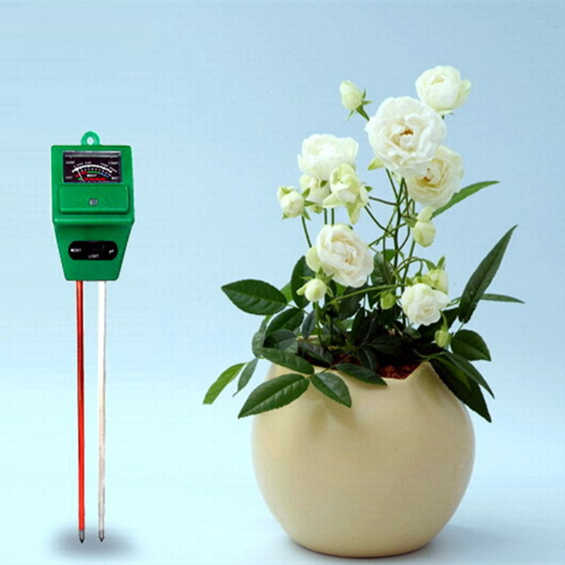Wholesale Upgrade in PH Plant Flowers Soil PH Meter Water Light Tester Sensor digital PH Meter for Indoor Garden Plant Flowers