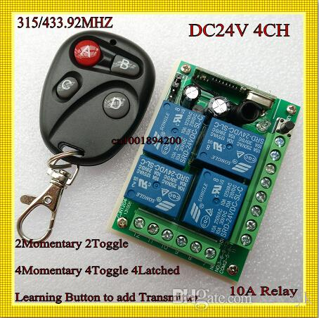 ask pro - DC V Way Relay Remote Switch A Relay Receiver Transmitter mhz Learning code ASK for Smart Home RM2 RM pro
