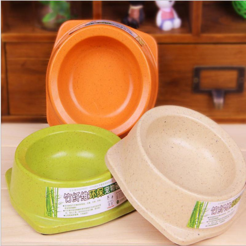 Wholesale 2016 Hot Sale Bamboo Fiber Environmental Pet Bowl For Dogs The Best Accessories Is Bowl Dog Drinking And Feeding Bowls Supplier