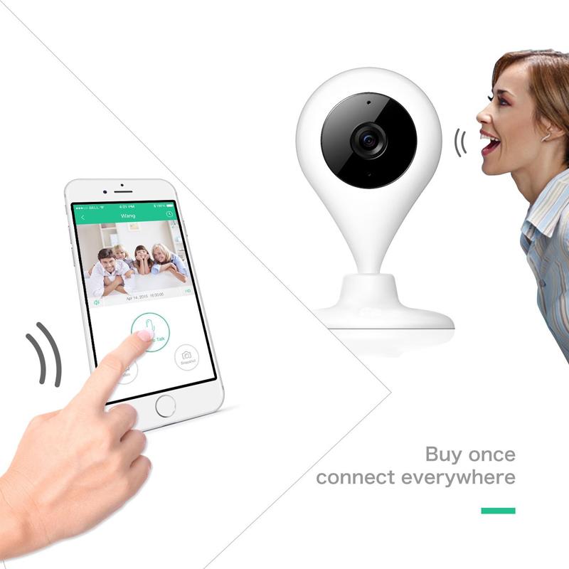 battery talk time - Drops ip camera P security camera IR Night vision way talk Real time video Rotation baby camera support Onvif Max G