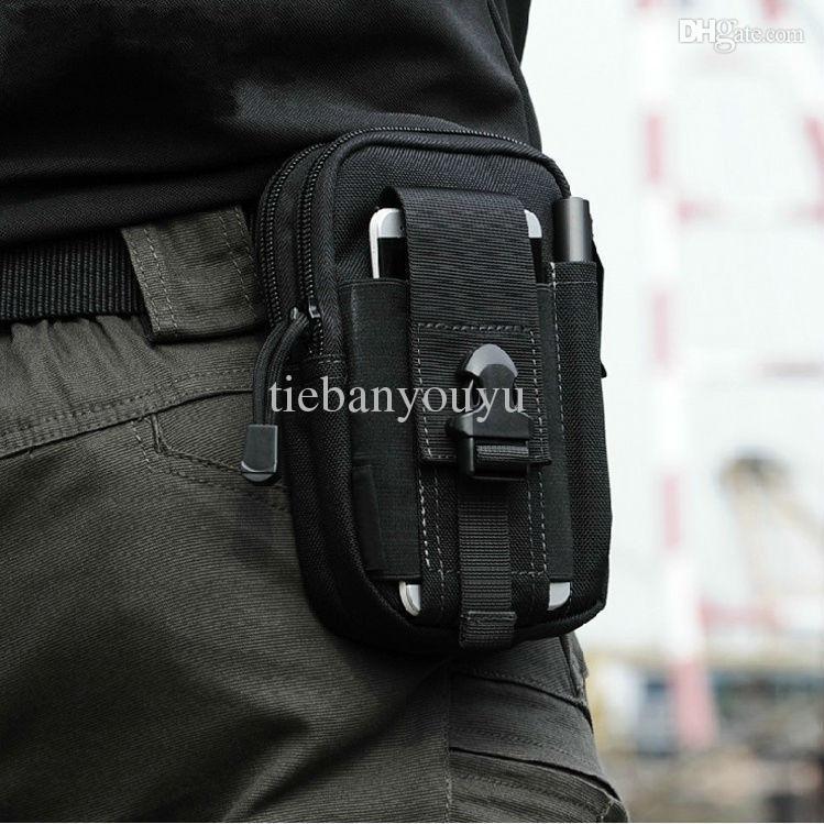 Wholesale Tactical military fans Sport leg Waist Bag Fanny Molle Belt Pouch for Samsung S6 iphone Mobile Phone Case quot Hip Pack