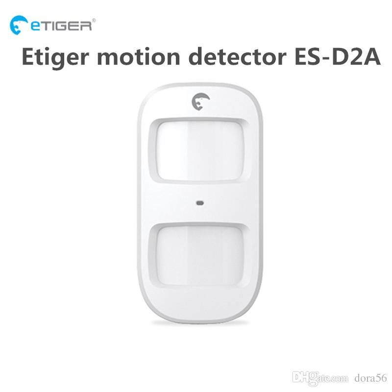 Wholesale etiger wireless Pet Immune motion detector ES D2A with Low battery alert work for etiger S4 home alarm system