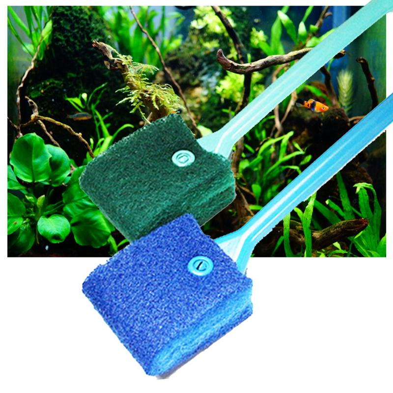 aquarium cleaning products - 2016 New Pet Product Aquarium Fish Tank Glass Algae Scraper Cleaner Floating Clean Brush Window Glass Cleaner Magnetic