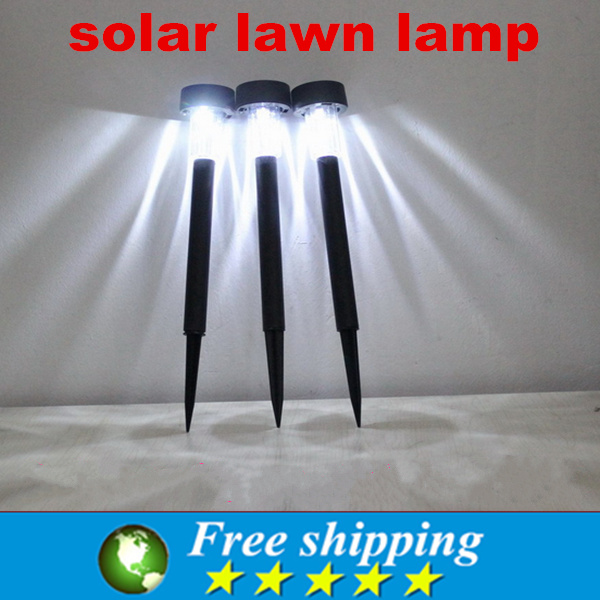 Wholesale High quality Waterproof Outdoor LED solar garden lamp Power lawn garden decoration mini lawn lamp outdoor lighting X3