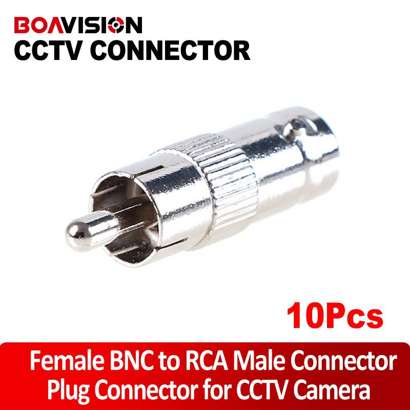 audio video convertor - Nasasafe BNC female to RCA male convertor adapter for audio or video equipment
