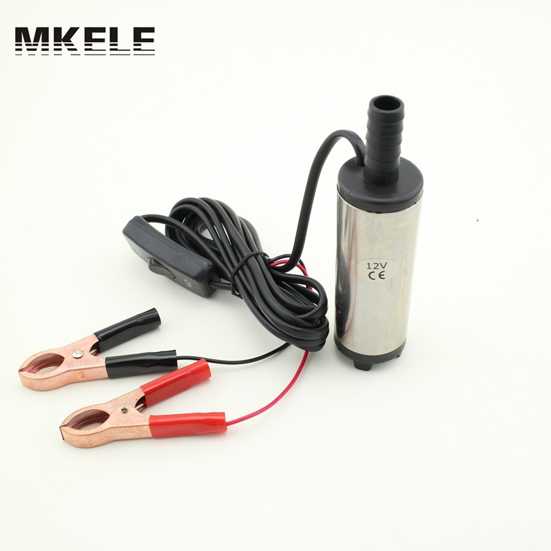 Wholesale Small Diameter MM DC V Submersible Diesel Fuel Water Oil Pump On Off Switch Car Camping Portable