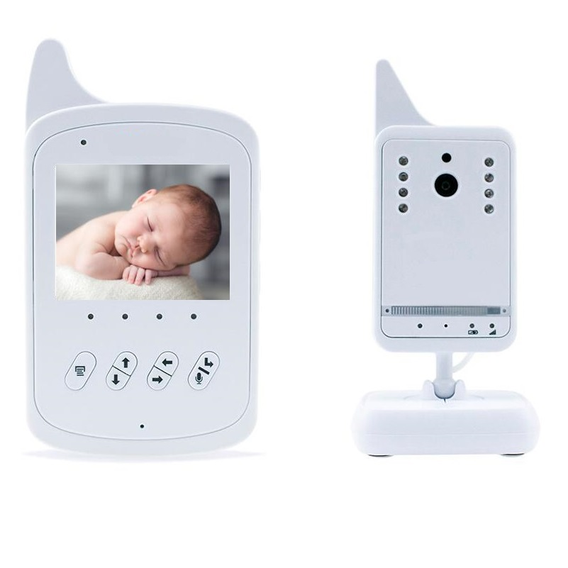 baby range - Baby Monitor inch LCD IR Night vision Lullabies Intercom Temperature monitor CHs VOX system digital baby monitor