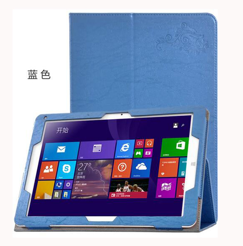 Buy CHUWI Hi12 12 inch Tablet Hi Folio Stand Cover Flower Printing Pattern PU Leather Case + Protection Film Stylus