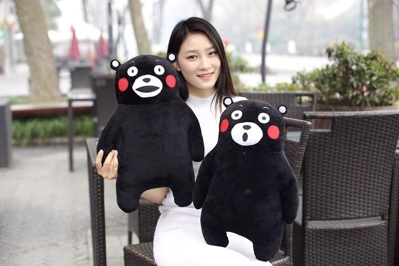 Cheap Plush Toys Doll Hold Pillow Cartoon Dolls Kumamon 50cm