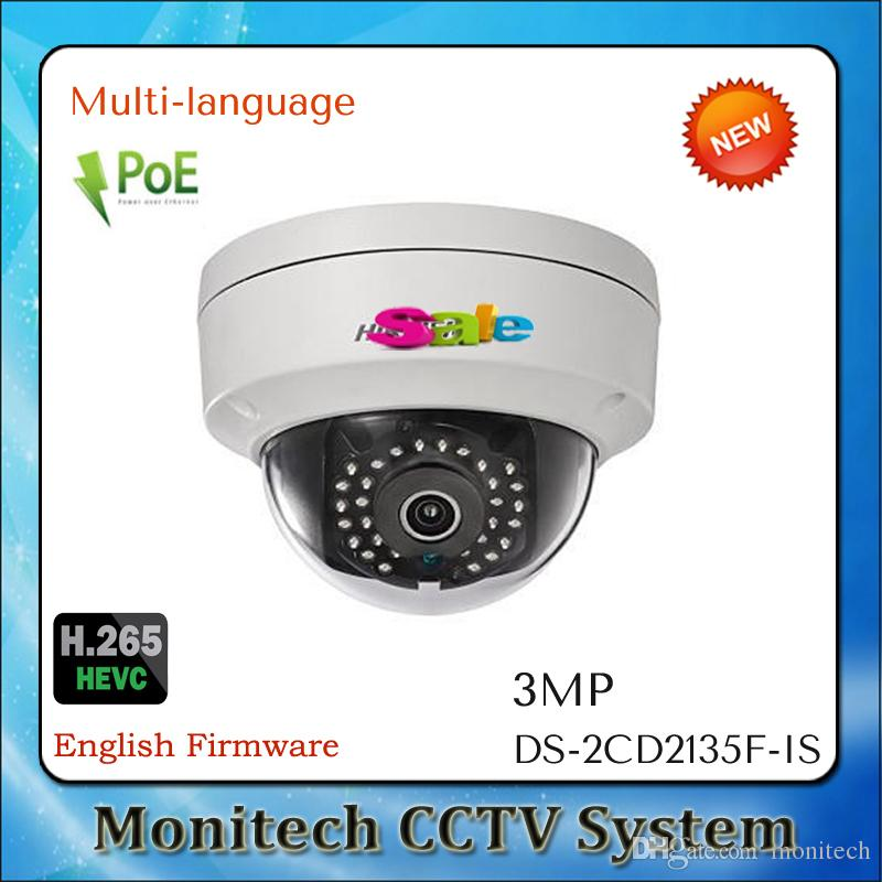 axis network camera - Hikvision Multi language DS CD2135F IS MP Mini Dome PoE IP Network Camera IP66 H AXIS Audio and Alarm I O CCTV