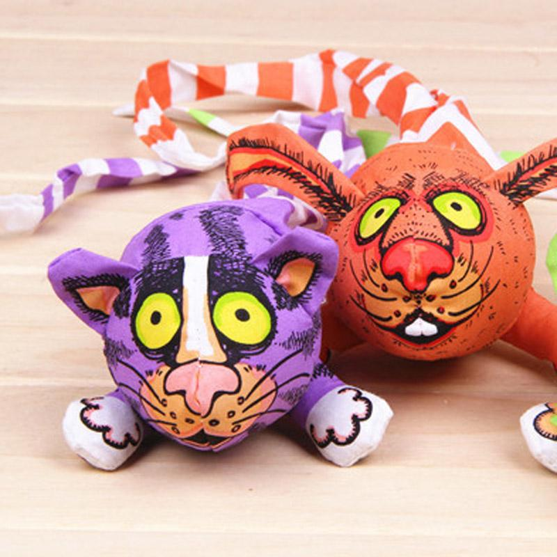 Wholesale Pet Cats And Dogs Bite Long Tail Rabbit Toy Canvas