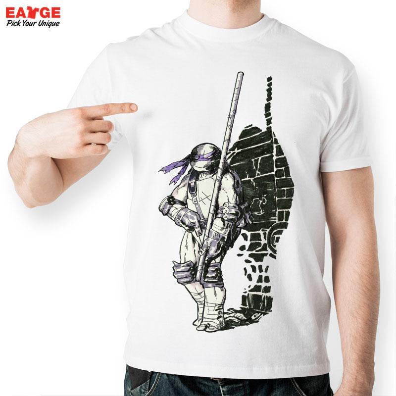 teenage fashion - EATGE Fashion Cool T shirt Pencil Hand Drawn Tee Teenage Mutant Cartoon Tshirt