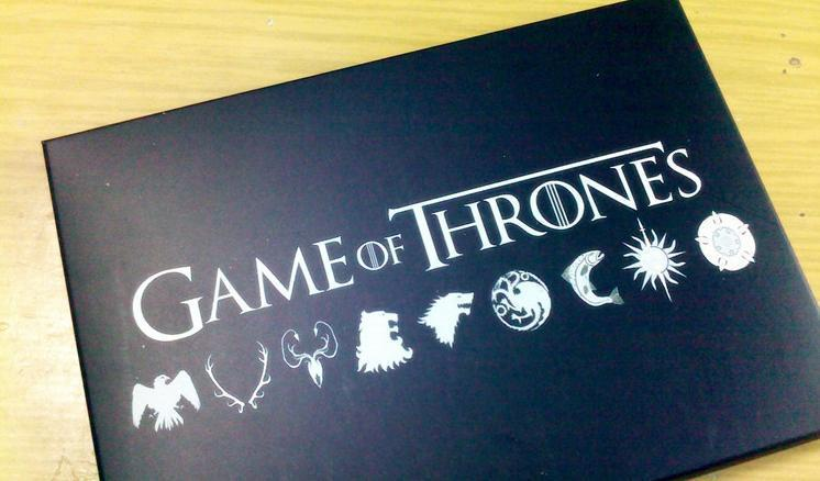 Wholesale new High Quality A Game of Thrones postcard A Song of Ice and Fire postcard with envelope
