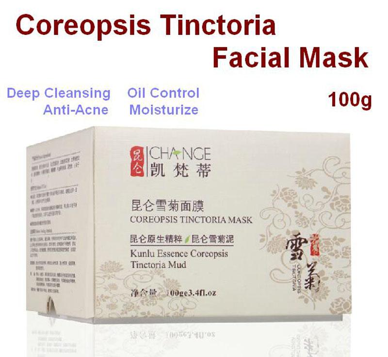 acid snow - Kunlun Snow Daisy Face Mask g Acne Treatment Anti Blackbhead Beauty Moisturizer