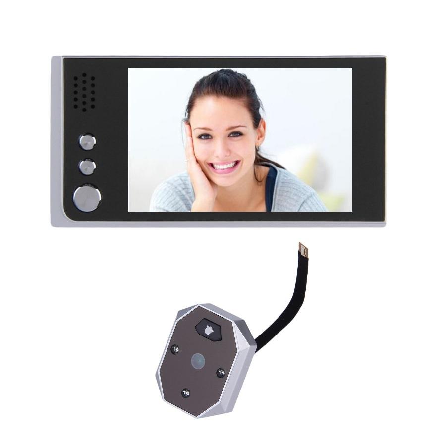 bell view - New door peephole camera inch LCD IR Nightvision Megapixels camera Take View Photos door bell video peephole door eye