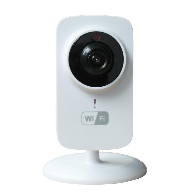 Caméra IP caméra vidéo moniteur nounou 1.0megapixels caméra HD IR vision nocturne Intecom détection de mouvement alarme 720p vidéo nounou