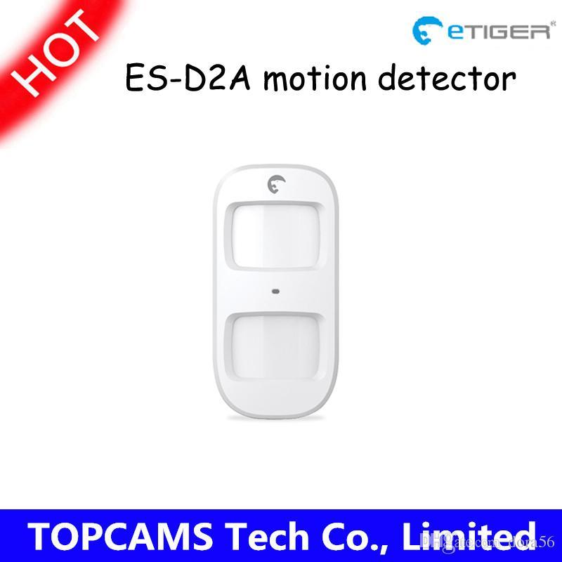 Wholesale etiger wireless Pet Immune motion detector ES D2A with Low battery alert work for etiger S4 home alarm system