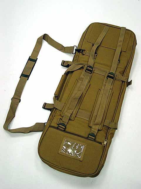 aeg gun rifle - quot Dual Rifle AEG Carrying Case Gun Bag Coyote Brown B sports bag