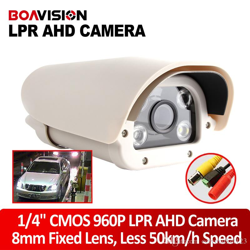 Wholesale 1 Mega Pixel P High Definition Vehicle Analog AHD LPR Camera mm Fixd Lens For Parking Entrance Toll Station Outdoor Waterproof