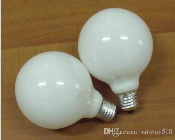 Wholesale led indoor light sportlight W W E27 V mm mm125mm round Pearl bubble cream l ed blub lamp corn light party hotel christmas