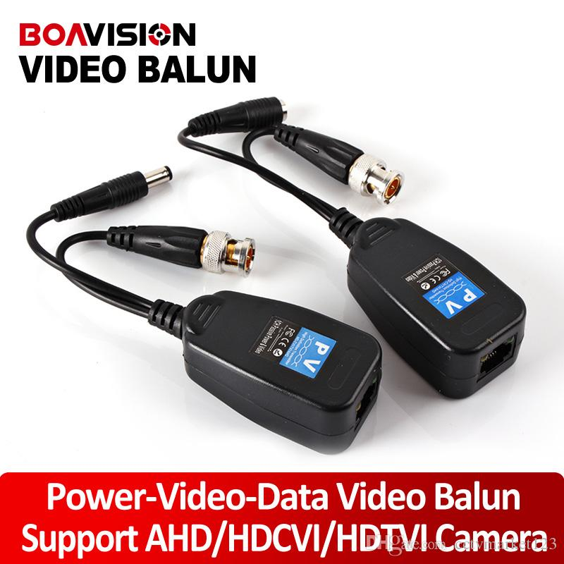 analog signal definition - 1CH Video Balun Passive Supply Power For Analog High Definition AHD HDTVI HDCVI Camera Power Video Data Signal Are Routed Via UTP RJ45