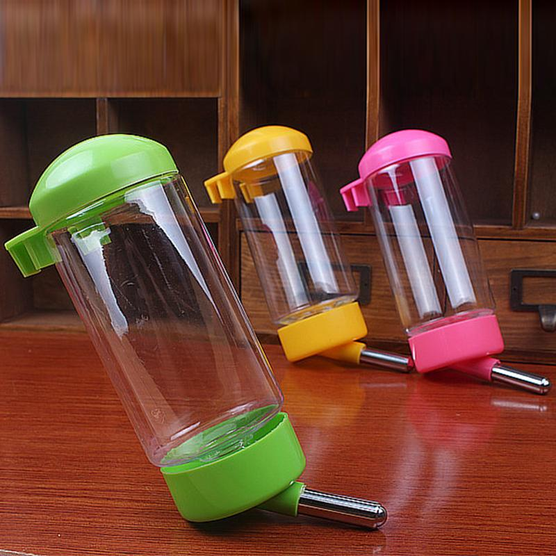 auto drinker - Hot Sale Colors Plastic Automatic Water Drinking Bowl For Dogs Rabbit Pet Water Dispenser Hang Bottle Auto Drinker For Dogs