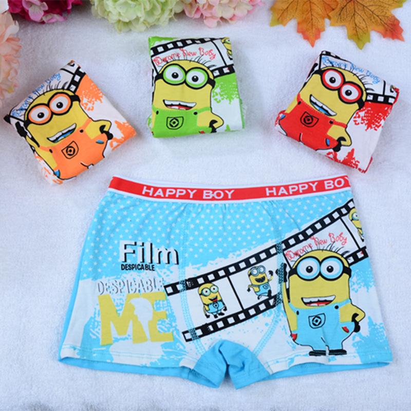 Cheap Minion Boys Underwear | Free Shipping Minion Boys Underwear ...