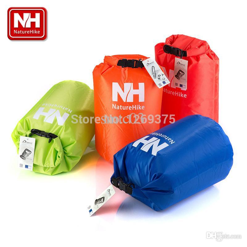 Wholesale Naturehike Travel Multi functional Ultralight Rafting Bag Waterproof Bag Dry Bag Swim L NH15S002 Q Blue Red Orange Green