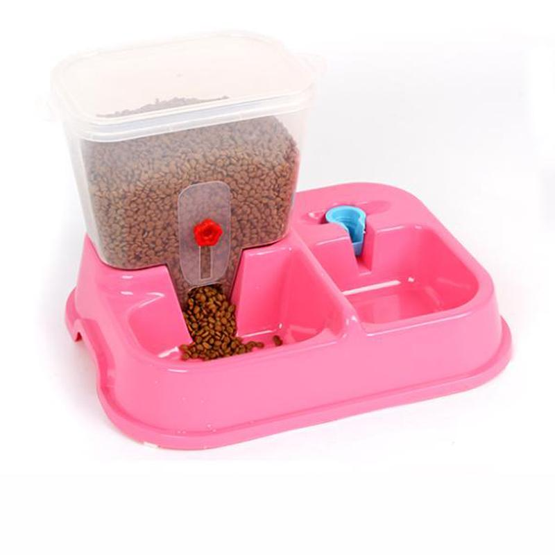 Wholesale 2016 Large Adjustable Automatic Pet Drinking Fountains Water Feeder Dog Cat Dog Bowl Feeder Assured Health