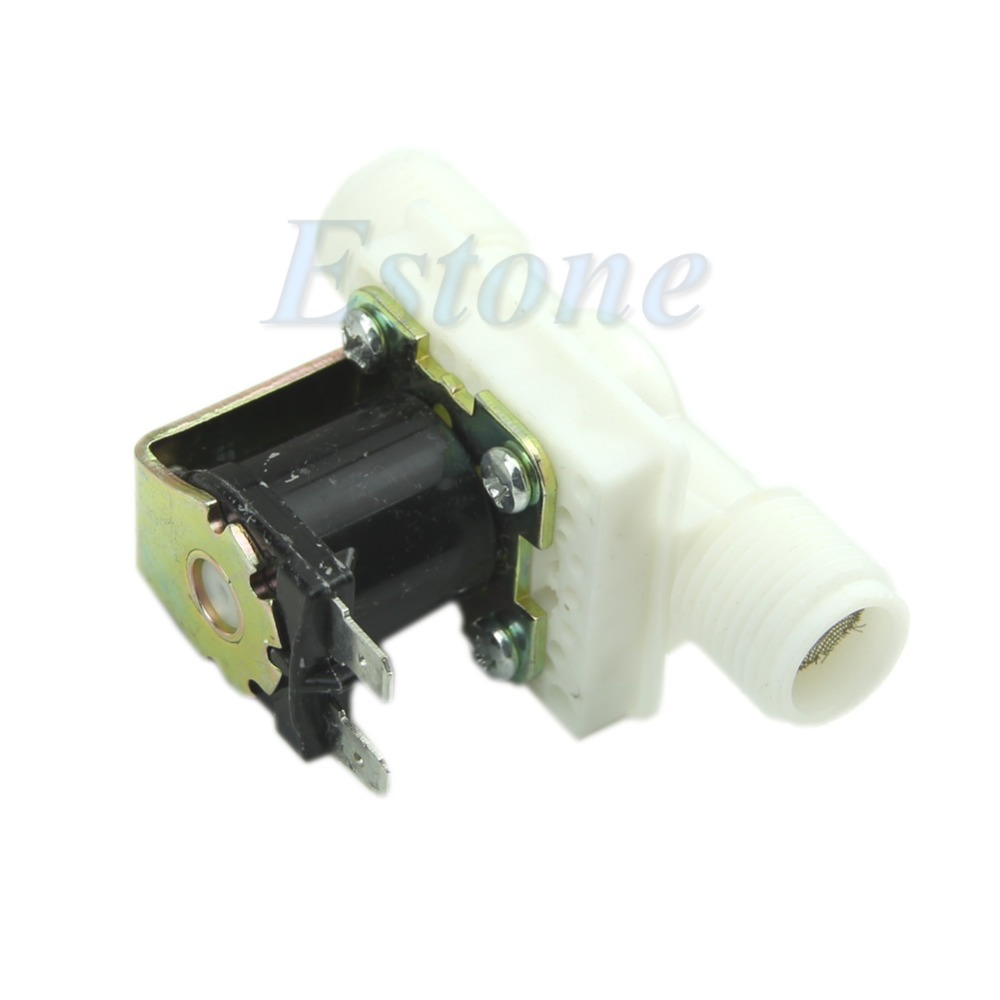 Wholesale AC220V Electric Solenoid Valve Magnetic N C Water Air Inlet Flow Switch N C quot