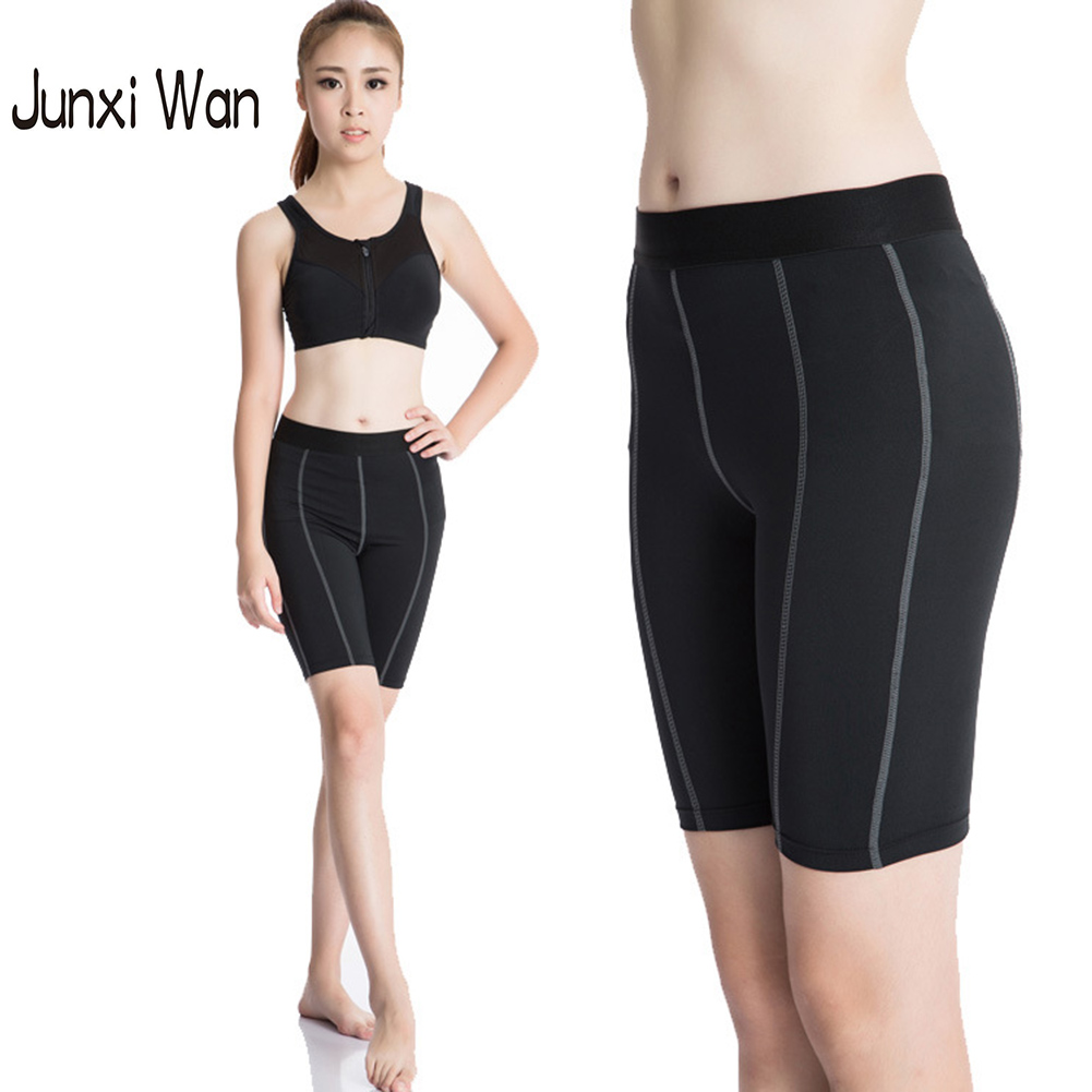 Wholesale Women Sports Short Leggings Pants Fitness Tights Workout Clothes Running Gym Leggings S XXL