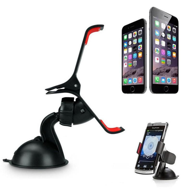 Wholesale Universal Car Styling Windshield Mount Stand Mobile Phone Holder For iPhone s s Plus For Samsung Smart Phone GPS