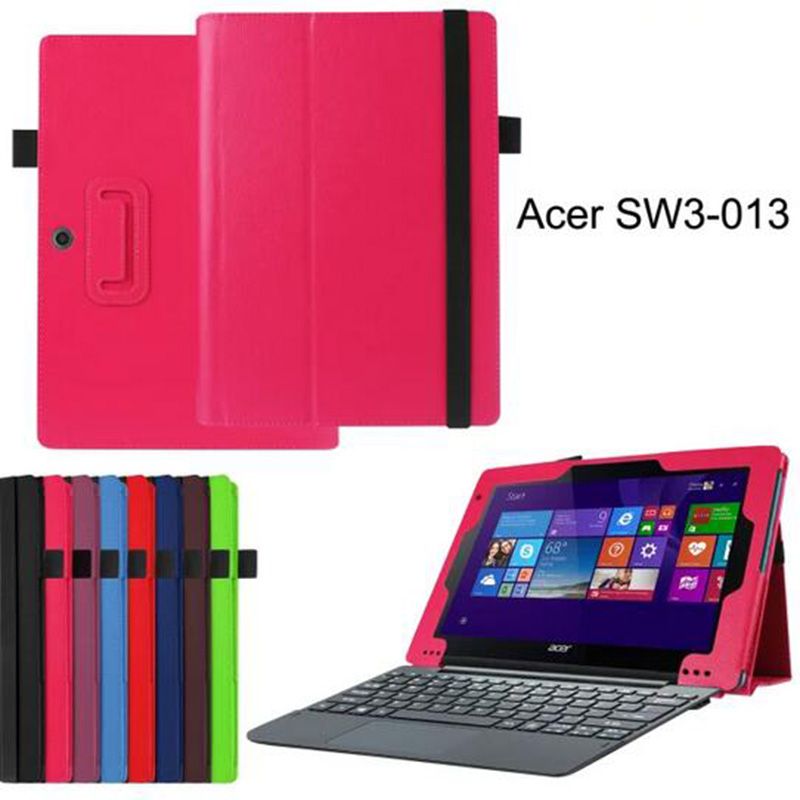 acer aspire blue - For Acer Aspire Switch E SW3 TJ quot Luxury Magnetic Folio Stand Holder PU Leather Case Cover