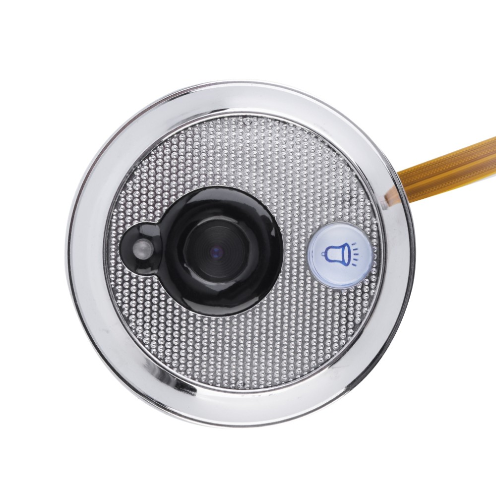 New video peephole camera 2.8inch LCD 3X Zoom Doorbell Photos Taking 0.3Megapixels CMOS peephole camera door viewer