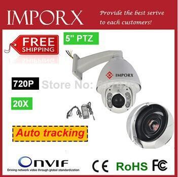 Zoom óptico de 20x y 12x digital de seguimiento automático ptz camera1.3 Megapíxeles HD Red de alta velocidad PTZ cámara domo desde ptz 12x proveedores