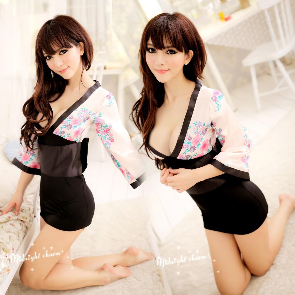 Сексуальная обтягивающее кимоно 10 фотография