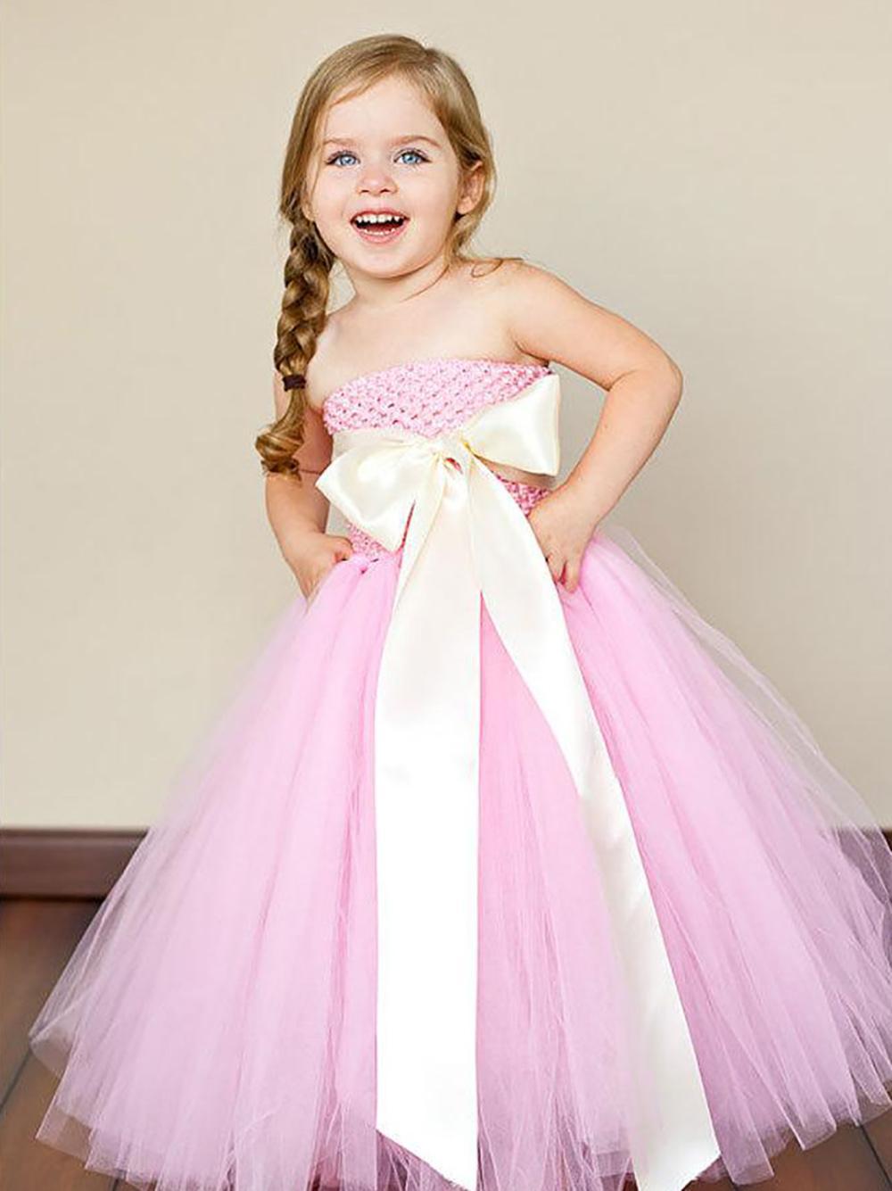 Самые красивые платья для маленьких девочек
