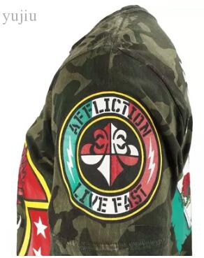 Wholesale-MMA Fight tops man short sleeve tshirt Cain Velasquez Camo Shirt 175# XL XXL Camouflage sports tops