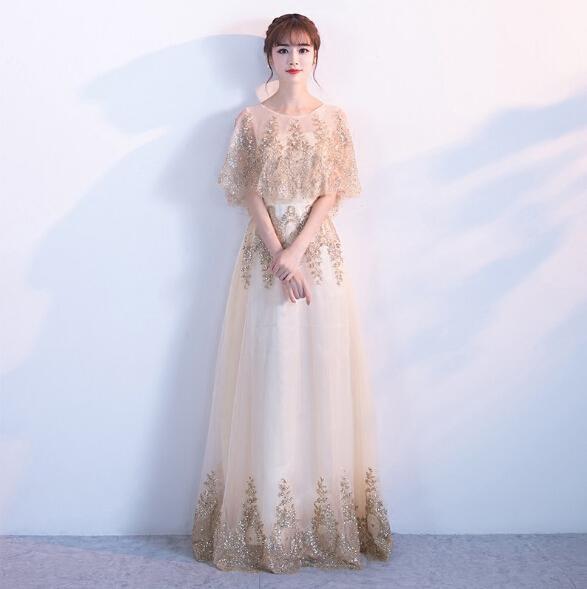 Shawl Flora Prom Dresses