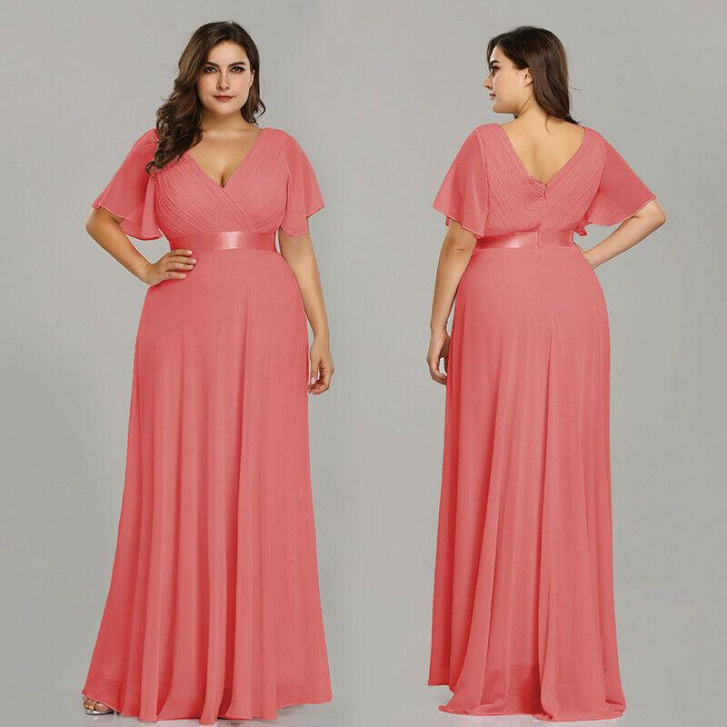 Plus Size Long Prom Dresses