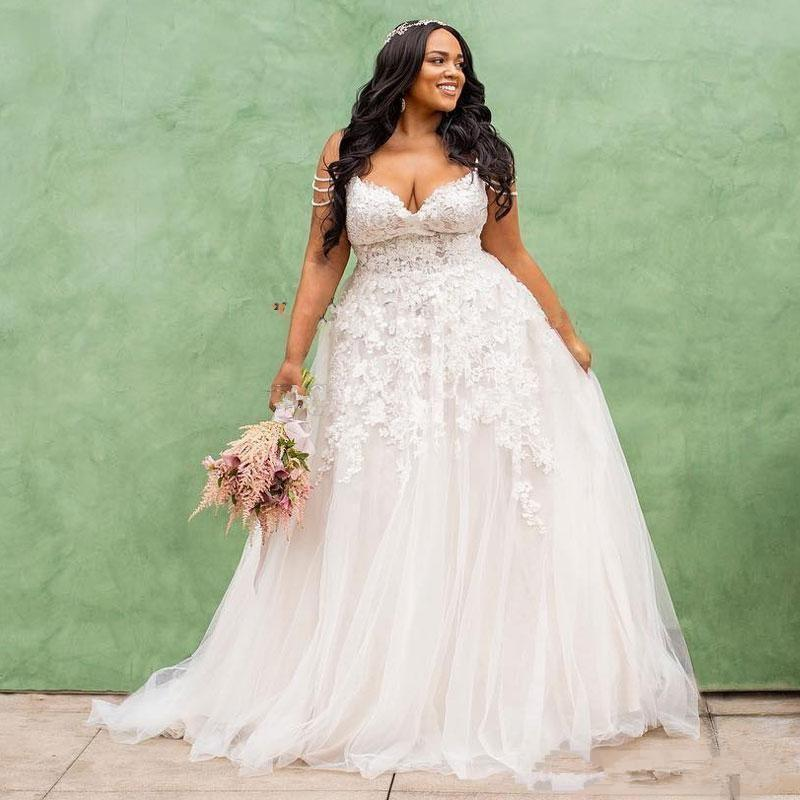 African Plus Size Wedding Dresseses