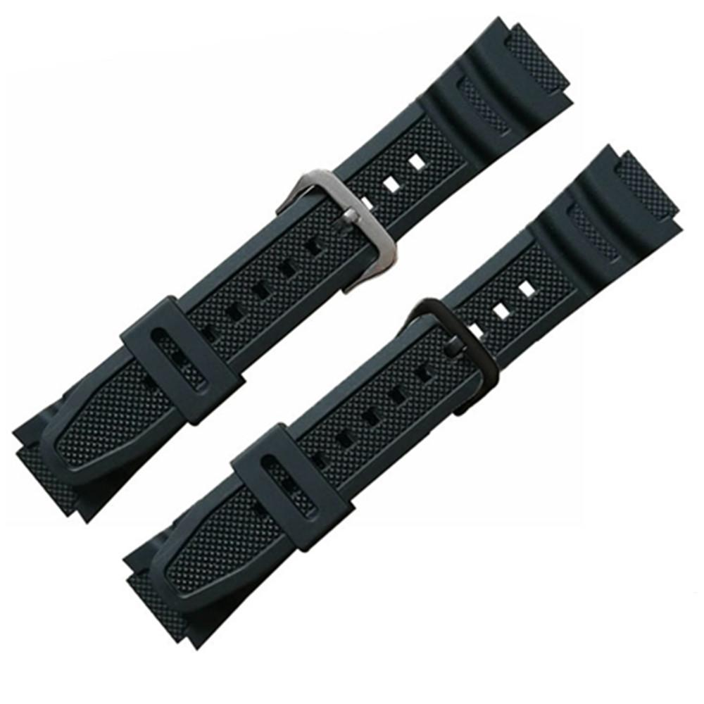 rubber silicone bracelet For AQ - S810W AE-1000 1200w sgw-300 400h mrw-200h
