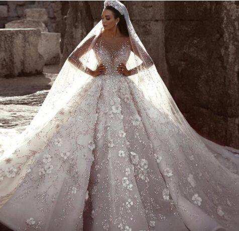 Mermaid婚纱