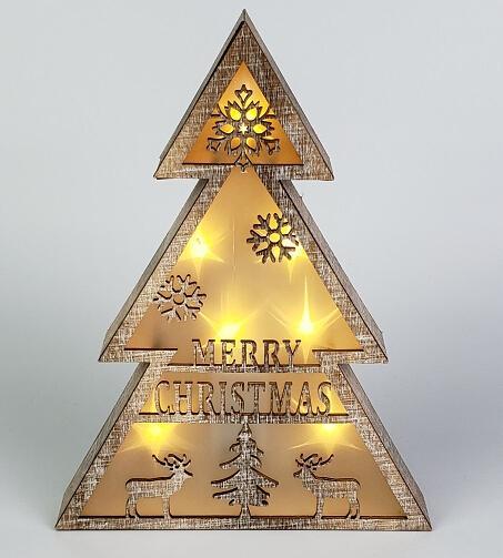 圣诞树灯摆件